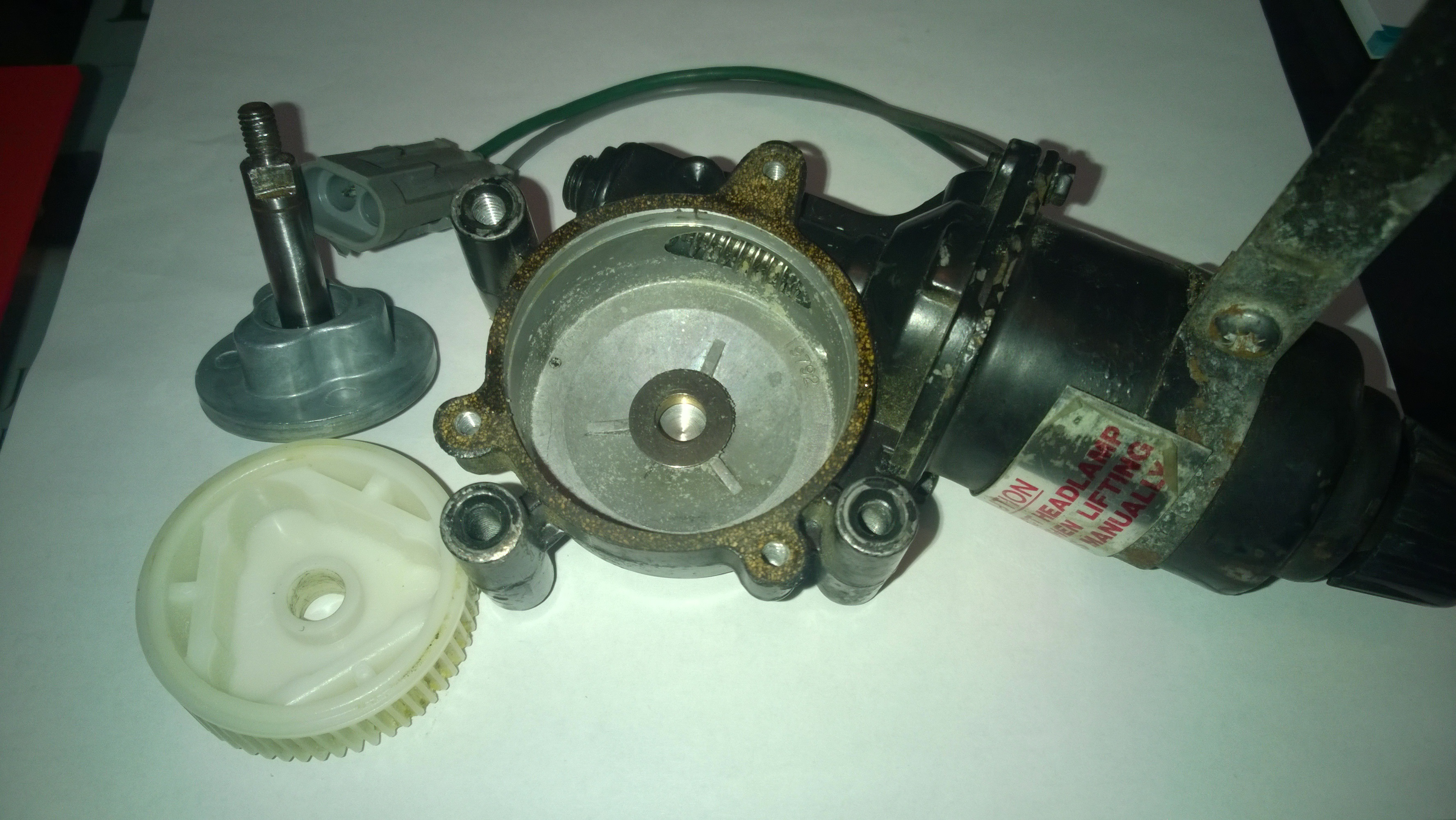 Lotus Esprit/Elan Headlight Rebuild Kits